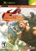 Capcom Fighting Evolution Xbox Front Cover