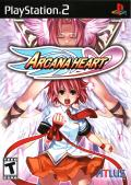 Arcana Heart PlayStation 2 Front Cover