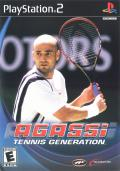 Agassi Tennis Generation 2002 PlayStation 2 Front Cover