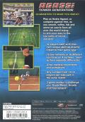 Agassi Tennis Generation 2002 PlayStation 2 Back Cover