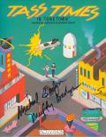 Tass Times in Tonetown Apple IIgs Front Cover Signed by Michael and Muffy Berlyn