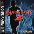 Dino Crisis 2 PlayStation Front Cover