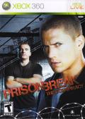 Prison Break: The Conspiracy Xbox 360 Front Cover