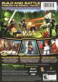LEGO Star Wars II: The Original Trilogy Xbox Back Cover
