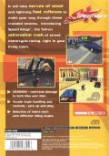 Speed Kings PlayStation 2 Back Cover