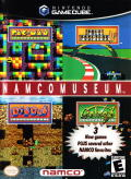 Namco Museum GameCube Front Cover