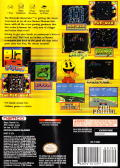 Namco Museum GameCube Back Cover