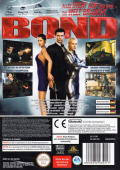 007: Everything or Nothing GameCube Back Cover