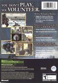 Medal of Honor: Frontline Xbox Back Cover