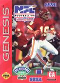 NFL Football '94 starring Joe Montana Genesis Front Cover