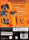 The Urbz: Sims in the City GameCube Back Cover