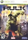 The Incredible Hulk Xbox 360 Front Cover