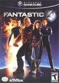 Fantastic 4 GameCube Front Cover