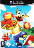 Kao the Kangaroo Round 2 GameCube Front Cover