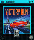 Victory Run TurboGrafx-16 Front Cover