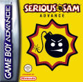 Serious Sam Game Boy Advance Front Cover