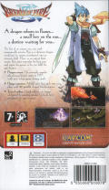 Breath of Fire III PSP Back Cover