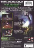 Disney's The Haunted Mansion Xbox Back Cover