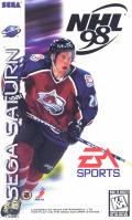 NHL 98 SEGA Saturn Front Cover