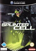 Tom Clancy's Splinter Cell GameCube Front Cover