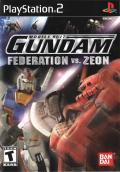 Mobile Suit Gundam: Federation vs. Zeon PlayStation 2 Front Cover