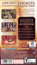 Prince of Persia: The Two Thrones PSP Back Cover