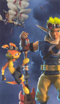 Jak and Daxter: The Lost Frontier PSP Inside Cover Left