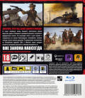 Red Dead Redemption PlayStation 3 Back Cover