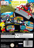 The Simpsons: Road Rage GameCube Back Cover