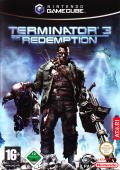 Terminator 3: The Redemption GameCube Front Cover