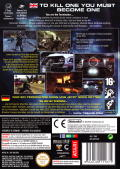 Terminator 3: The Redemption GameCube Back Cover