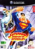 Superman: Shadow of Apokolips GameCube Front Cover