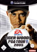 Tiger Woods PGA Tour 2005 GameCube Front Cover