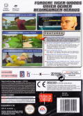 Tiger Woods PGA Tour 2005 GameCube Back Cover