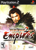 Samurai Warriors 2: Empires PlayStation 2 Front Cover