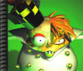 Crash Bandicoot 2: Cortex Strikes Back PlayStation Inside Cover