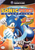 Sonic Gems Collection GameCube Front Cover