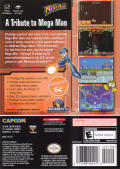 Mega Man: Anniversary Collection GameCube Back Cover