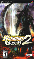 Warriors Orochi 2 PSP Front Cover