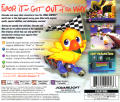 Chocobo Racing PlayStation Back Cover