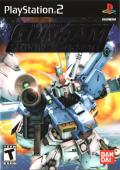 Mobile Suit Gundam: Encounters in Space PlayStation 2 Front Cover Foil Embossed Logo