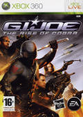 G.I. Joe: The Rise of Cobra Xbox 360 Front Cover