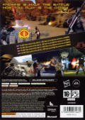 G.I. Joe: The Rise of Cobra Xbox 360 Back Cover
