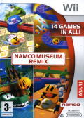 Namco Museum Remix Wii Front Cover