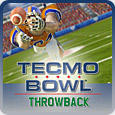 Tecmo Bowl Throwback PlayStation 3 Front Cover