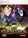 Ben 10 Alien Force: The Rise of Hex Xbox 360 Front Cover