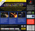 Asteroids PlayStation Back Cover