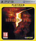 Resident Evil 5 PlayStation 3 Front Cover
