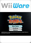 Pokémon Rumble Wii Front Cover