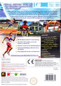 Summer Athletics 2009 Wii Back Cover